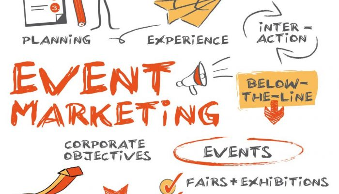 Eventmarketing concept